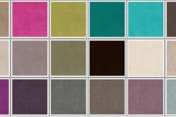 Цветовая гамма скамьи