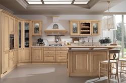 Кремовый цвет кухни