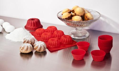 Силиконовые формы для выпечки кексов