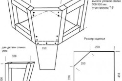 Угловой блок кухонного дивана