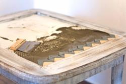 Укладка плитки на стол