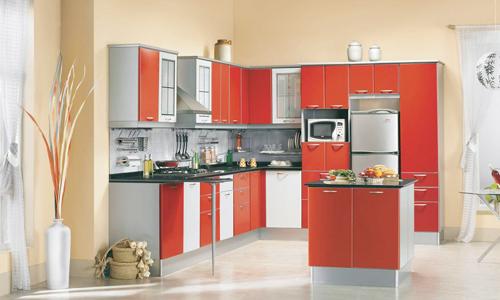 Водоэмульсионная краска на стенах кухни