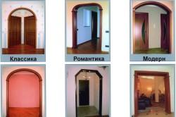 Типы арок для кухни