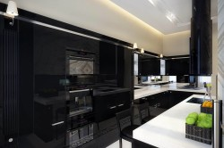 Маленькая темная кухня