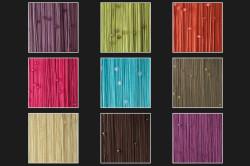 Цветовая гамма штор из нитей