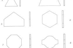 Формы керамической плитки для пола
