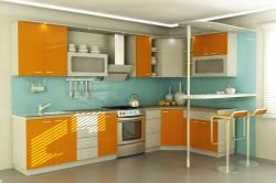 Яркая стильная кухня
