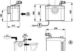 Схема канализационного насоса