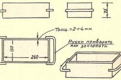 Схема формовки самодельного кирпича