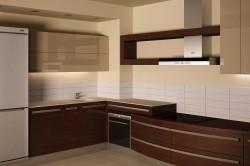 Имитация кухни из венге