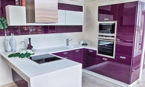 Красивая кухня баклажан