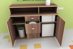 Мини-кухня для офиса из ДСП