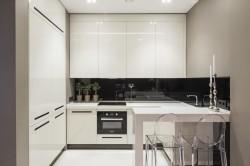 Интерьер современного минимализма на кухне