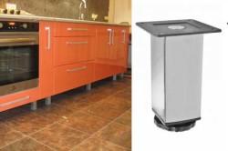 Металлические ножки для кухонной мебели