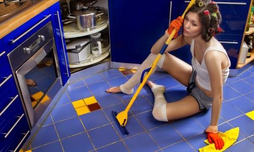 Проблема мытья кухни