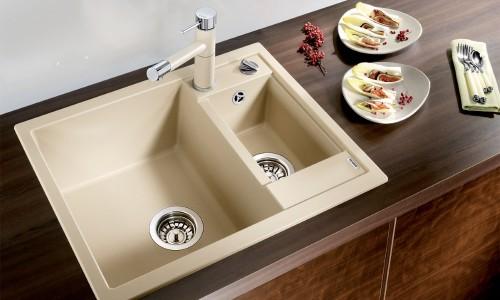 Удобная керамическая мойка для кухни