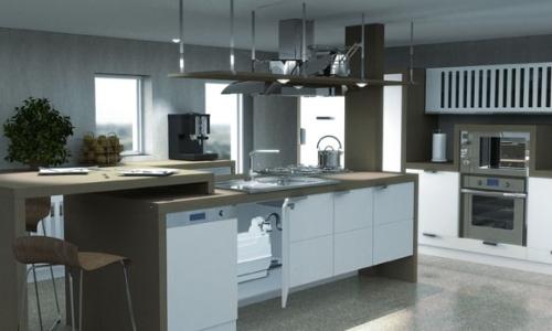 Канализационный насос для устройства кухни