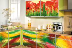 Виниловые наклейки на кухонный гарнитур
