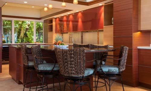 Плетенный кухонные кресла