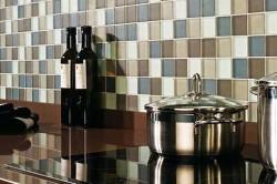 Стеновая панель мозаика для кухни