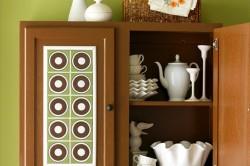 Декорирование мебели керамической плиткой