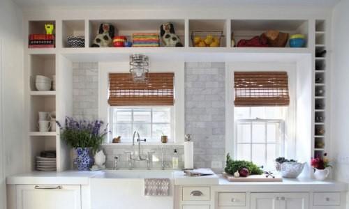 Открытый кухонный стеллаж
