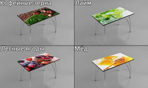 Кухонные столы с яркой фотопечатью