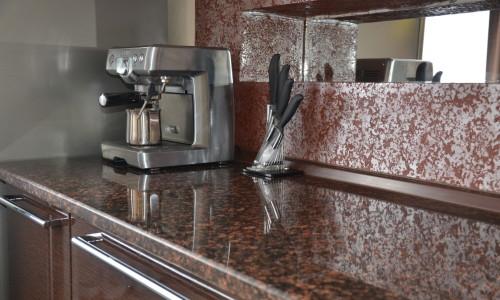 Кухонная мраморная столешница