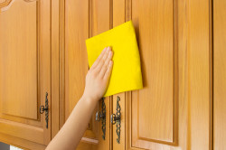 Мытье кухонного гарнитура