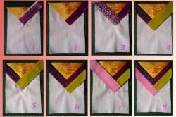 Этапы лоскутного шитья