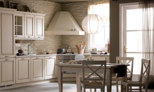 Дизайн угловой вытяжи для кухни
