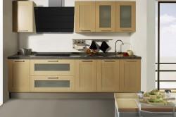 Воздухоотводная вытяжка на кухне