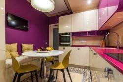 Цветовое решение небольшой кухни