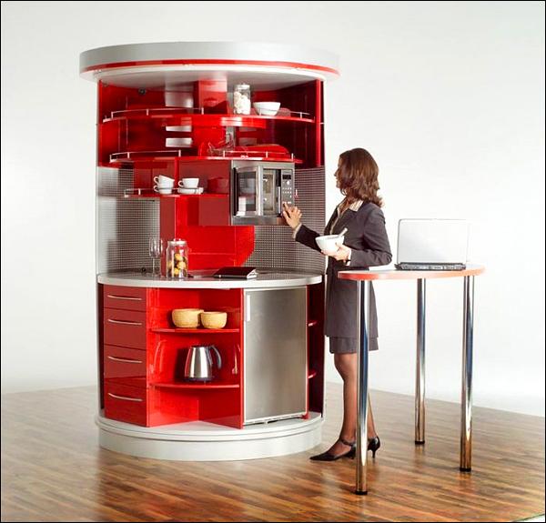 Мебель-трансформер для разных кухонь